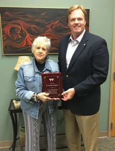 Dr. Brad Baine with Dr. RoseMary Weaver