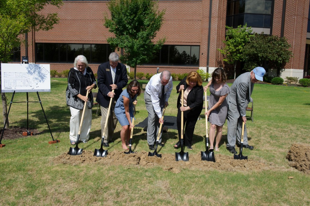 Harding University Sciences Groundbreaking