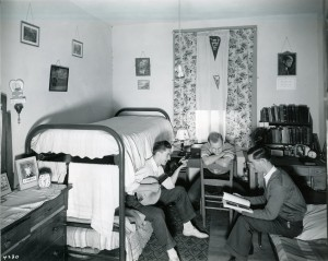 J.Alvin Brown_1940 Dorm Room