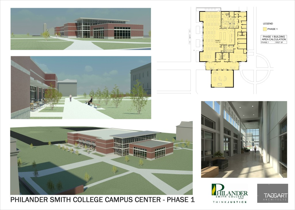 Philander Smith - Campus Center Phase 1