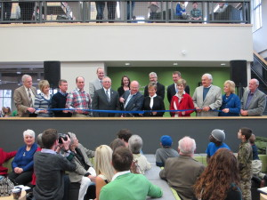 Ribbon Cutting of the Story Library