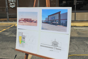 """""""Plans for what the new space will look like when Tractor Supply Co. moves into part of the Ridge Center."""""""