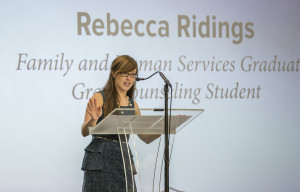 Rebecca Ridings, John Brown University graduate counseling student, sees the new college as a way to better equip students to make a bigger impact on generations to come.